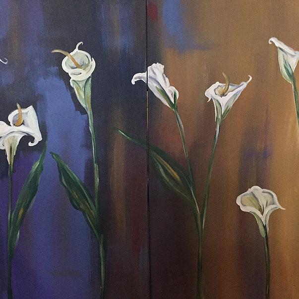 Carolyn Shoemaker_White Calla Lilies
