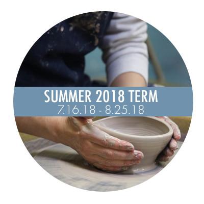 Art School Term Button Summer 2018