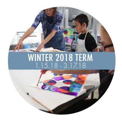Art School Term Button Winter 2018